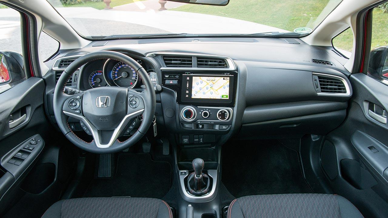 Honda Jazz - Cockpit