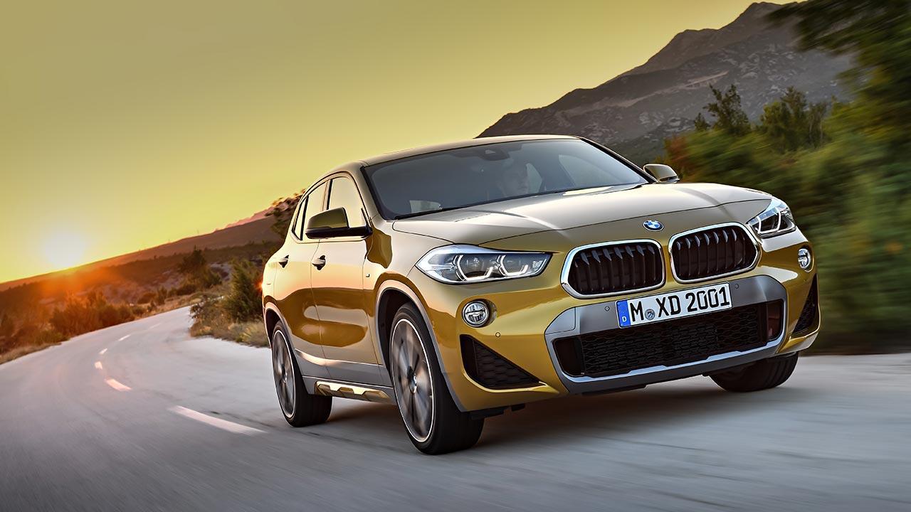 BMW X2 2017 - Frontansicht