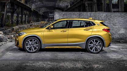 BMW X2 2017 - Seitenansicht