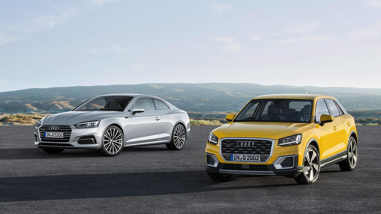 Audi A5 Coupè 2019 - 2 Farben