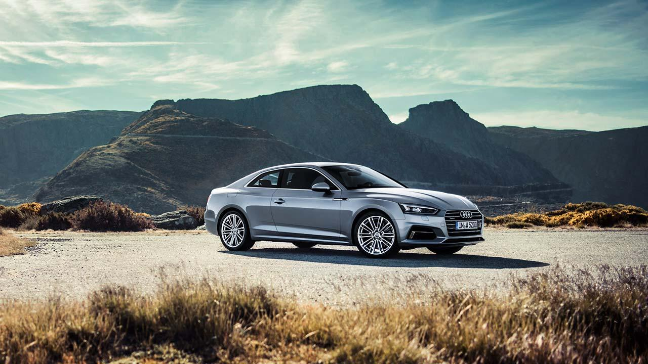 Audi A5 Coupè 2019 - Seitenansicht