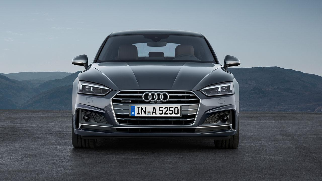 Audi A5 Sportback 2019 - Frontansicht