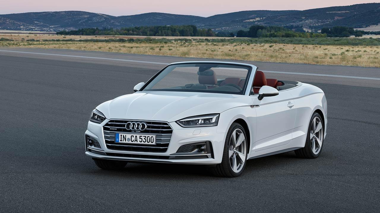 Audi A5 Cabriolet 2019 - Frontansicht