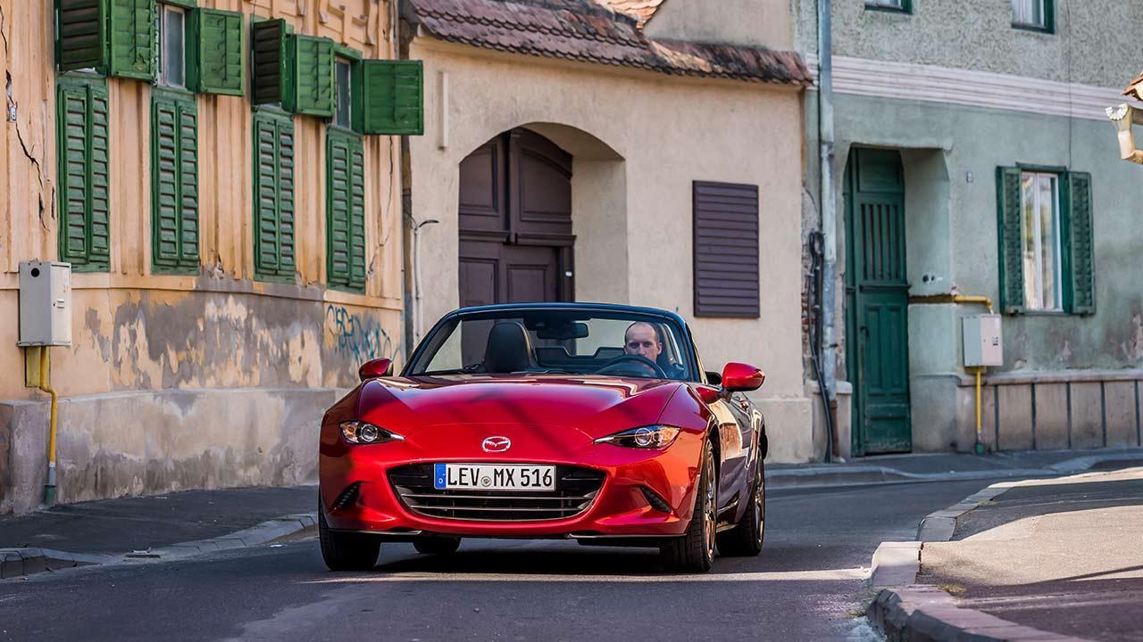 Mazda MX-5 - Frontansicht