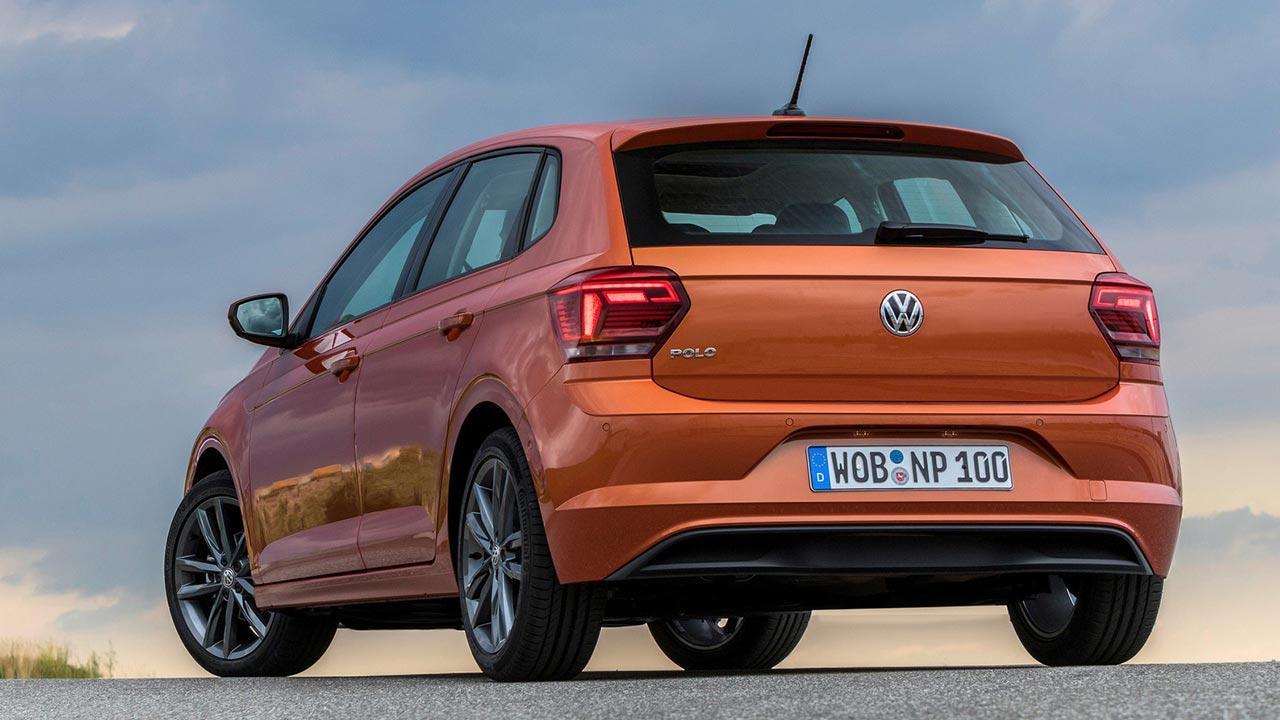 Volkswagen Polo - seitliches Heckansicht