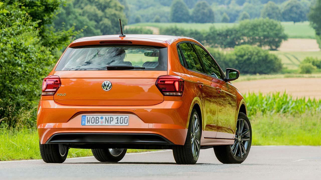 Volkswagen Polo - Heckansicht