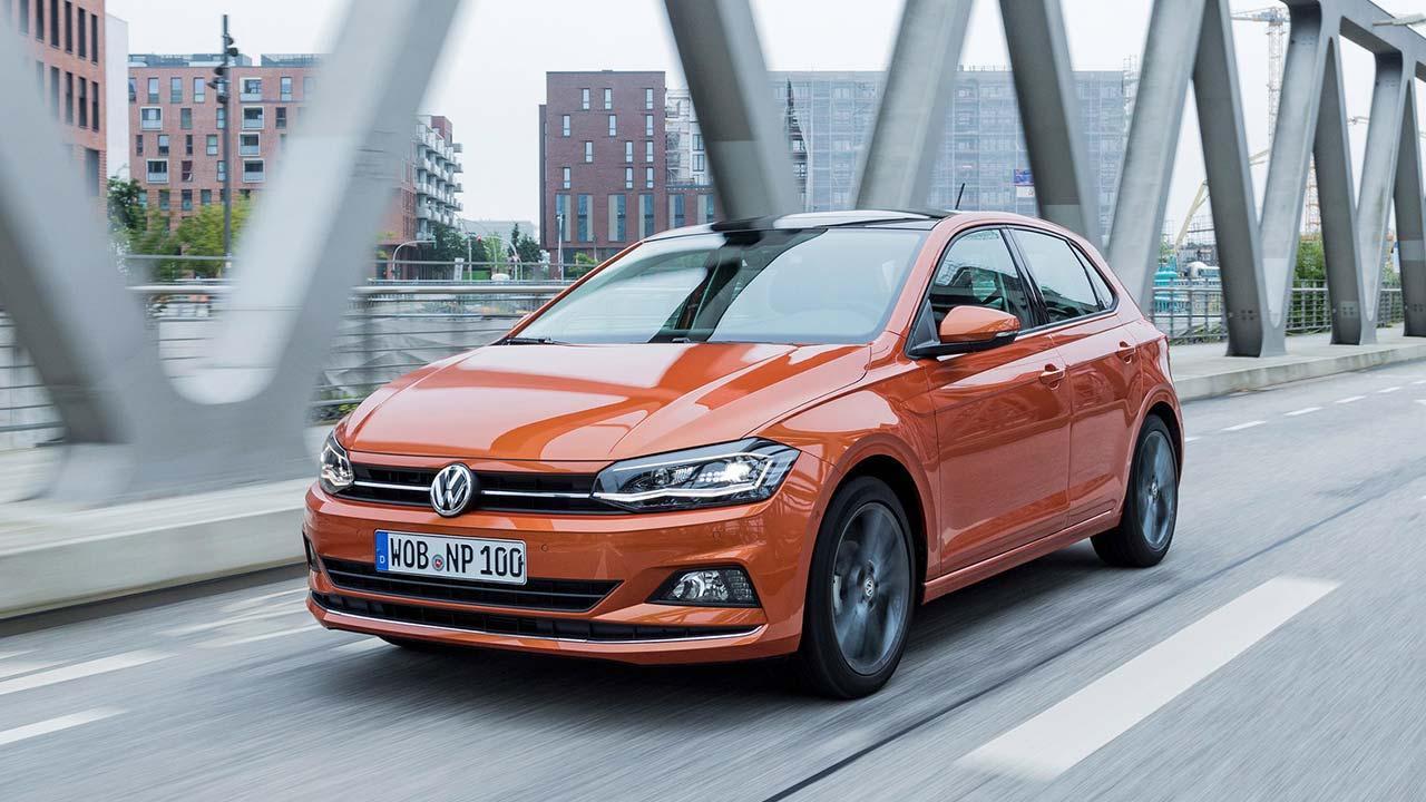 Volkswagen Polo - in voller Fahrt