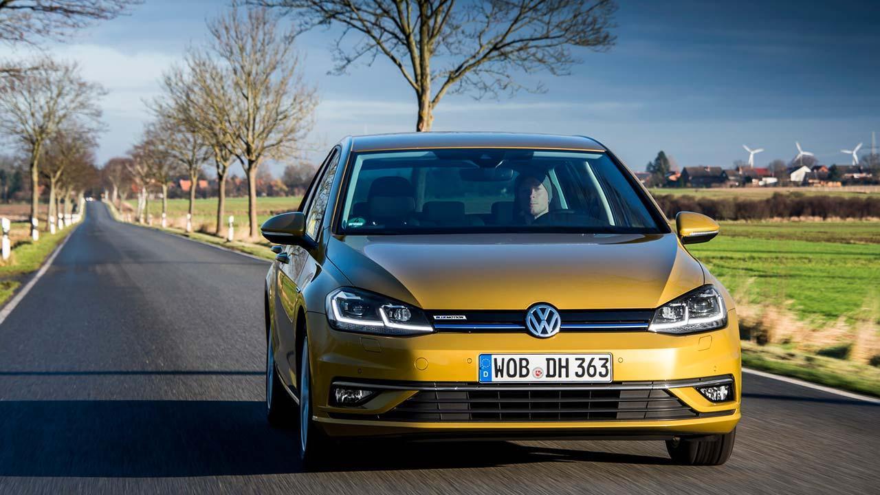 Volkswagen Golf VII Limousine - Frontansicht