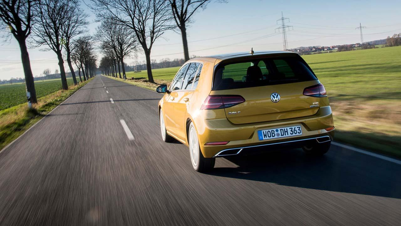 Volkswagen Golf VII Limousine - Heckansicht