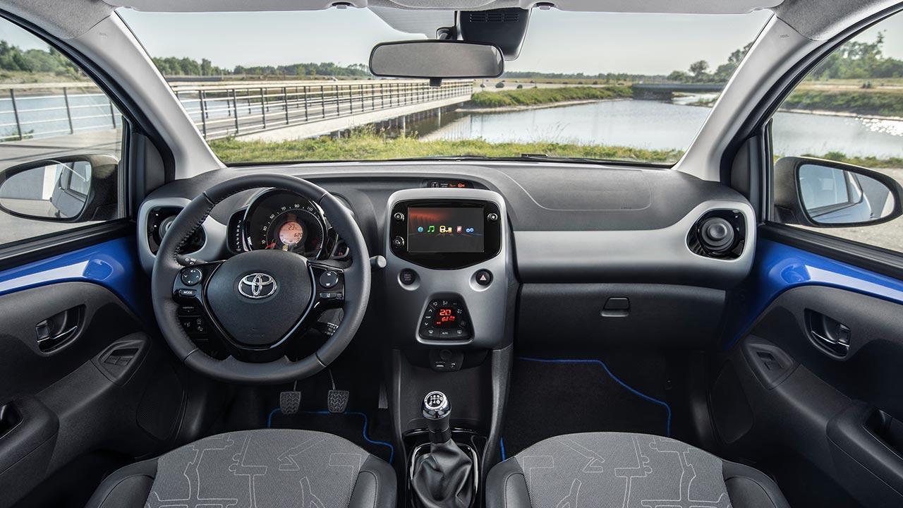 Toyota Aygo - Cockpit