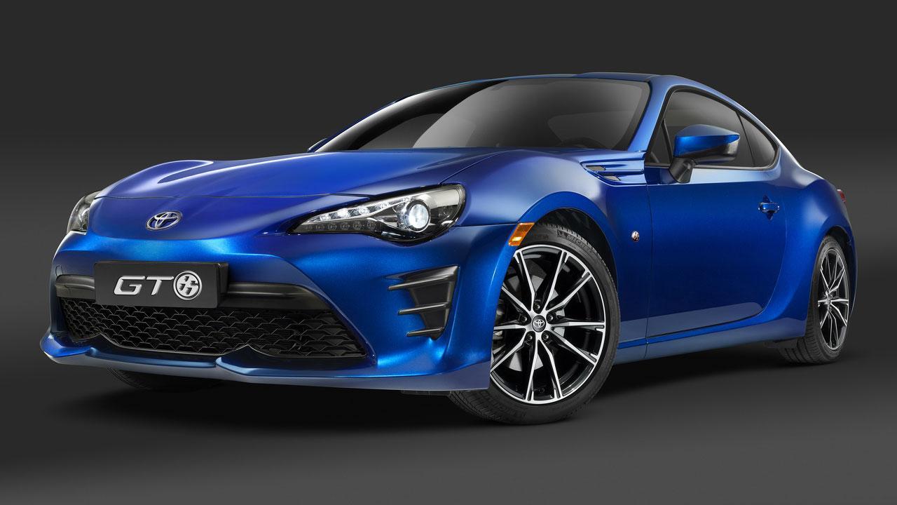 Toyota GT86 - in blau