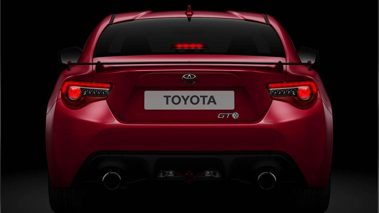 Toyota GT86 - Heckansicht