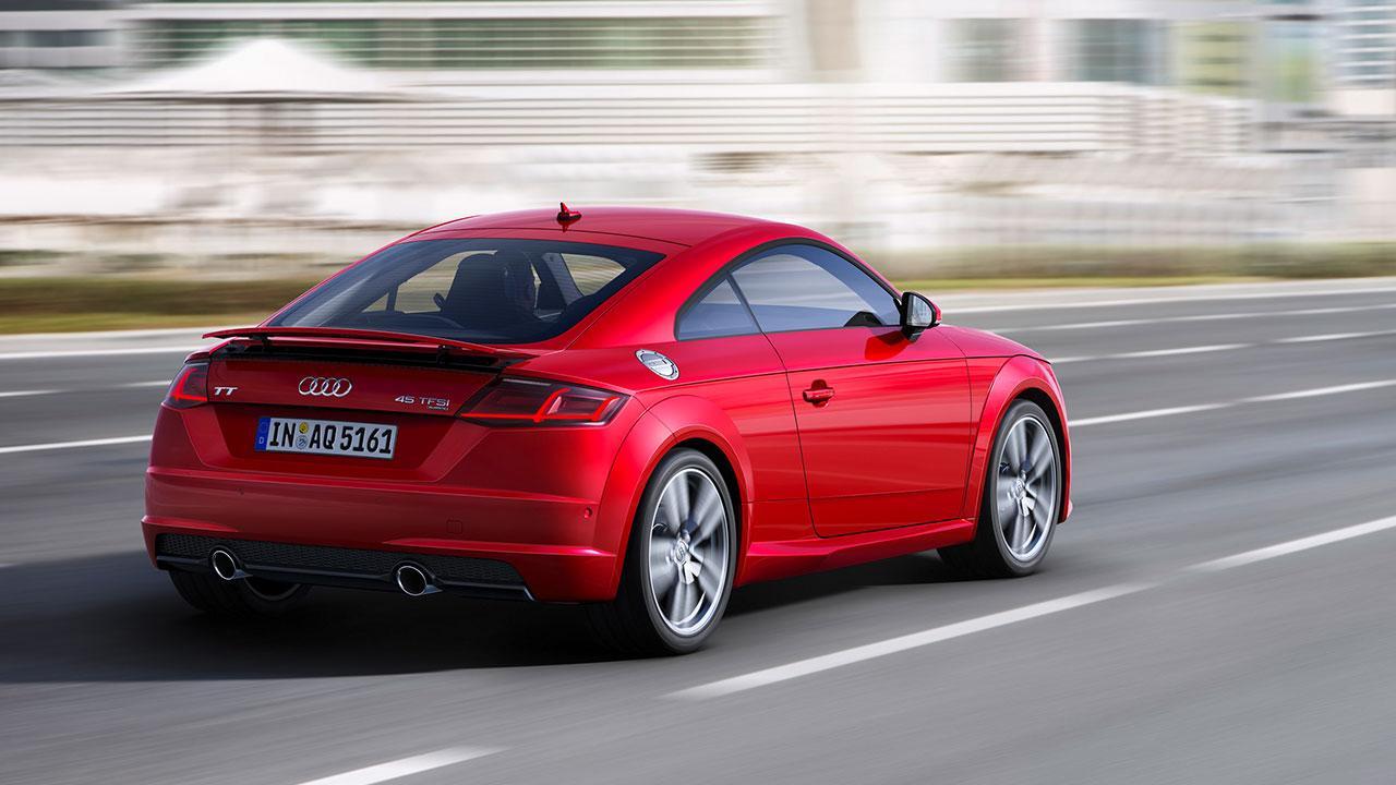 Audi TT Coupé - in voller Fahrt