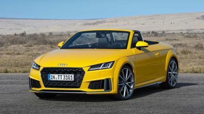 Audi TT Roadster - seitliche Frontansicht