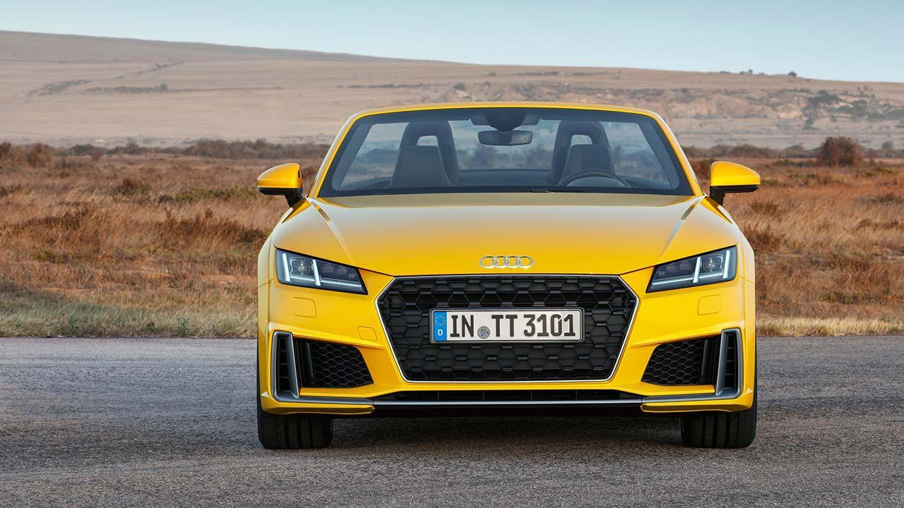 Audi TT Roadster - Frontansicht
