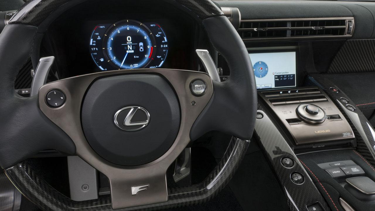 Lexus LFA - Cockpit