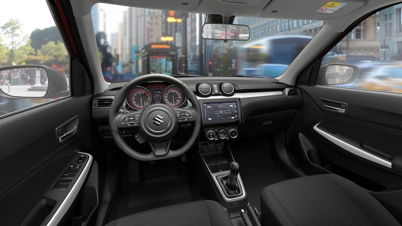 Suzuki Swift - Cockpit