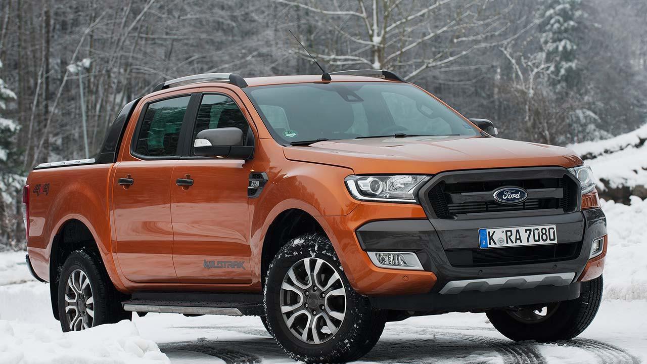 Ford Ranger Raptor - im Schnee