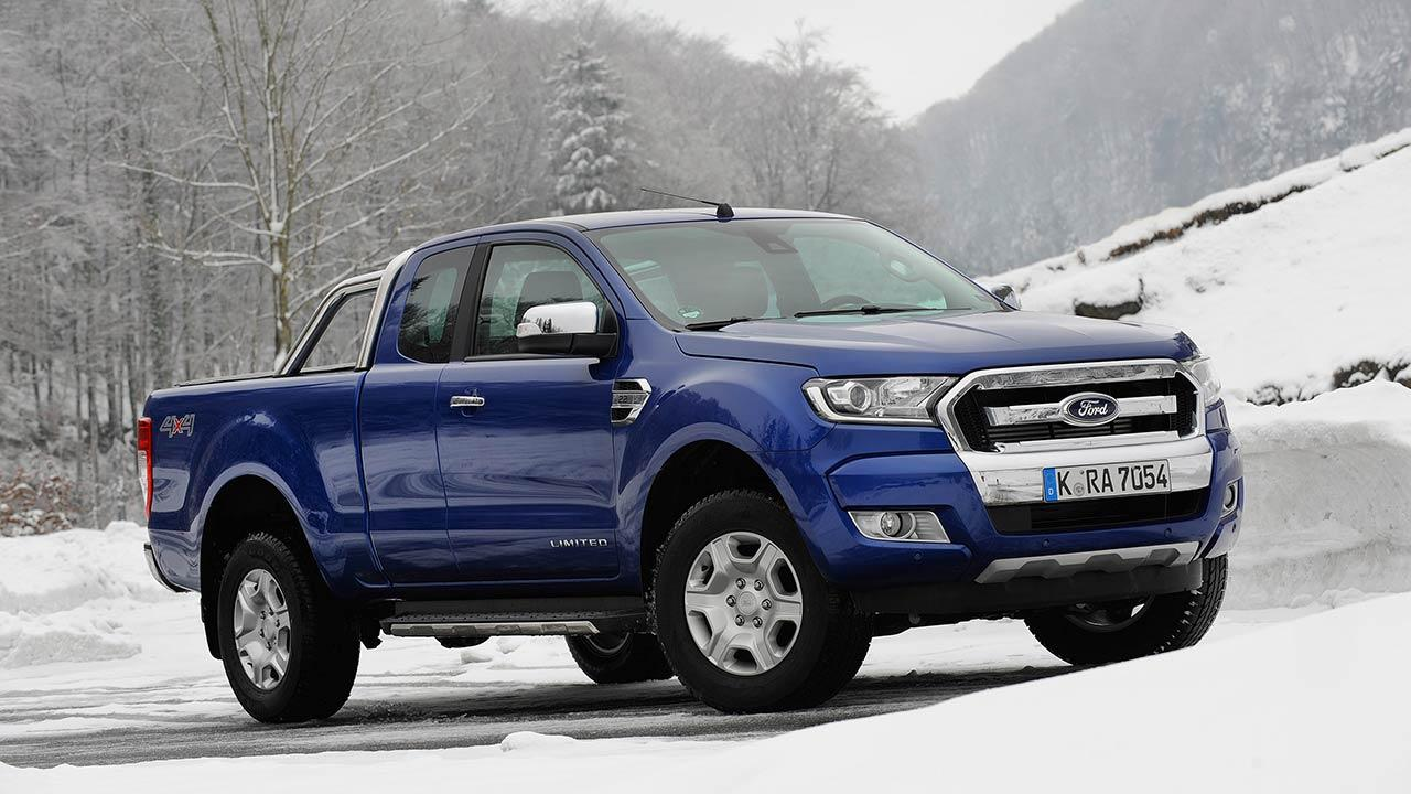 Ford Ranger Raptor - in blau