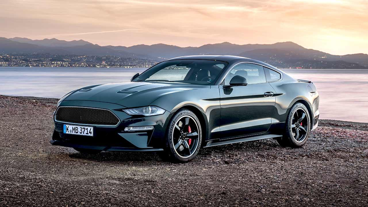 Ford Mustang - am Strand