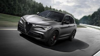Alfa Romeo Stelvio Quadrifoglio - in voller Fahrt