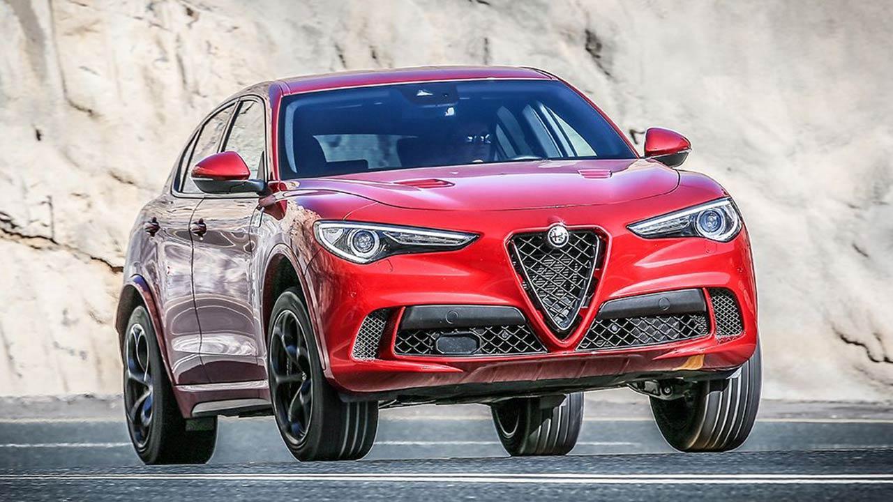 Alfa Romeo Stelvio Quadrifoglio - Frontansicht