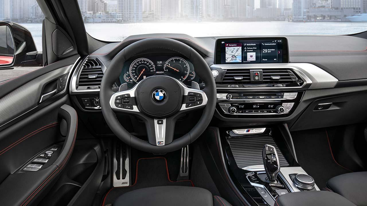 BMW X4 2018 - Cockpit