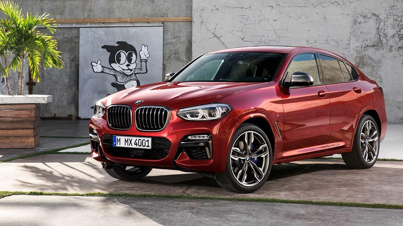 BMW X4 2018 - Vorderansicht
