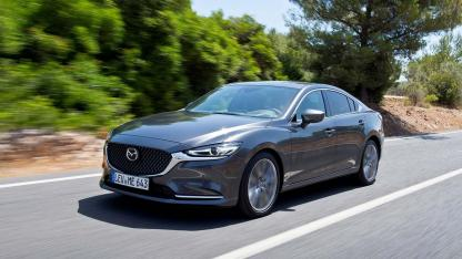 Mazda6 Limousine (Facelift 2018) - in voller Fahrt