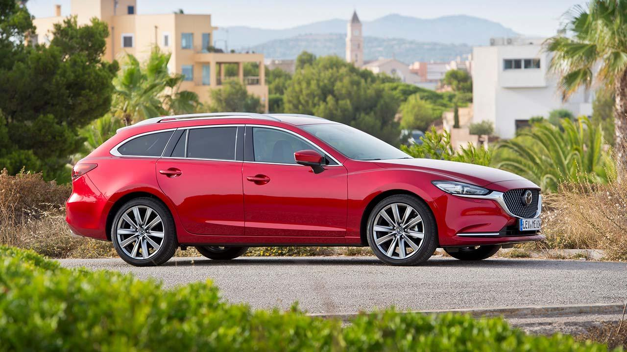 Mazda6 Kombi (Facelift 2018) - Seitenansicht