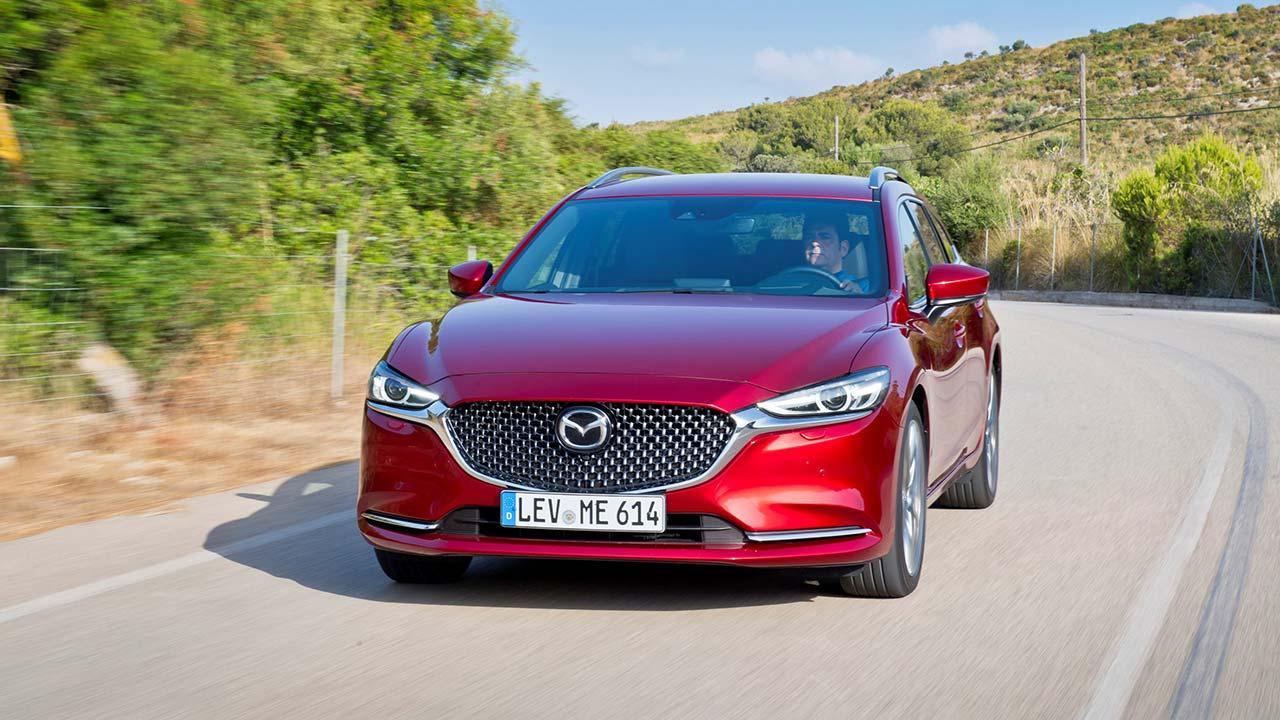 Mazda6 Kombi (Facelift 2018) - Frontansicht