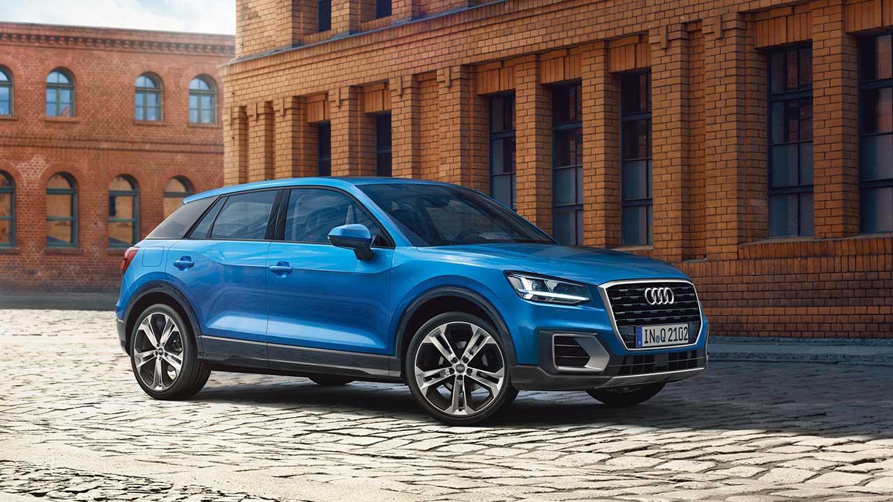 Audi Q2 - Seitenansicht