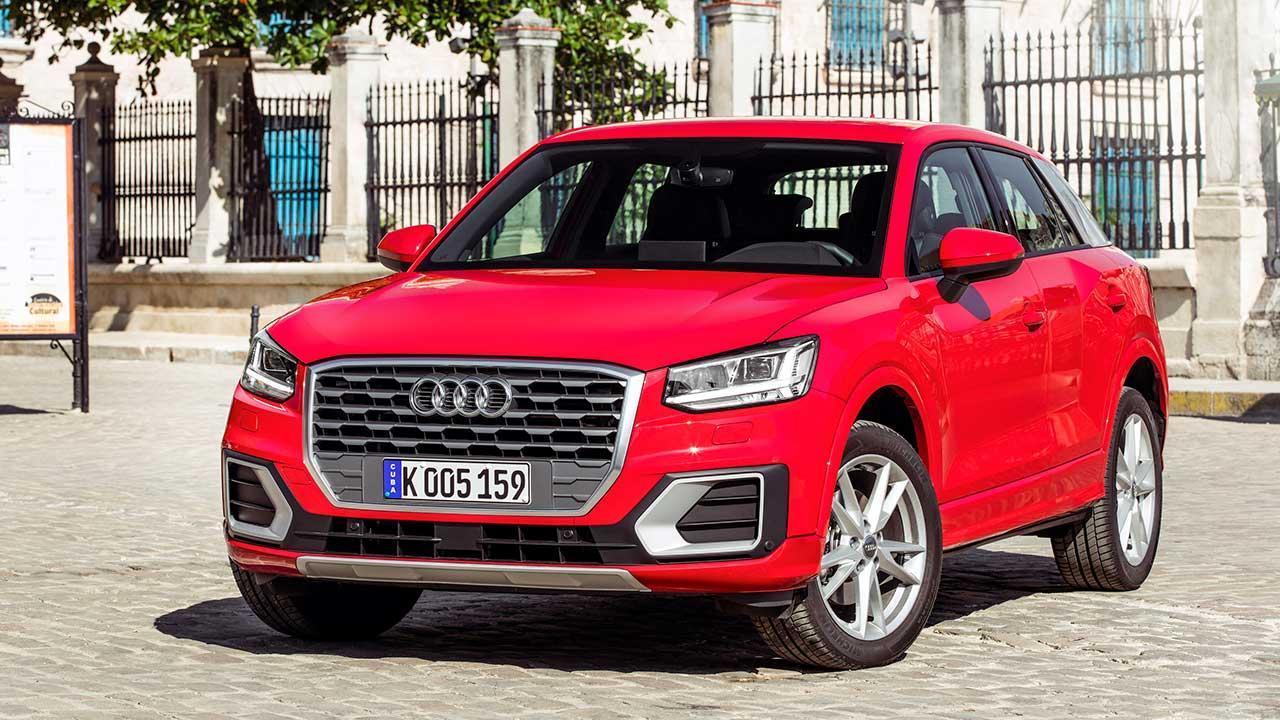Audi Q2 - in Frontansicht