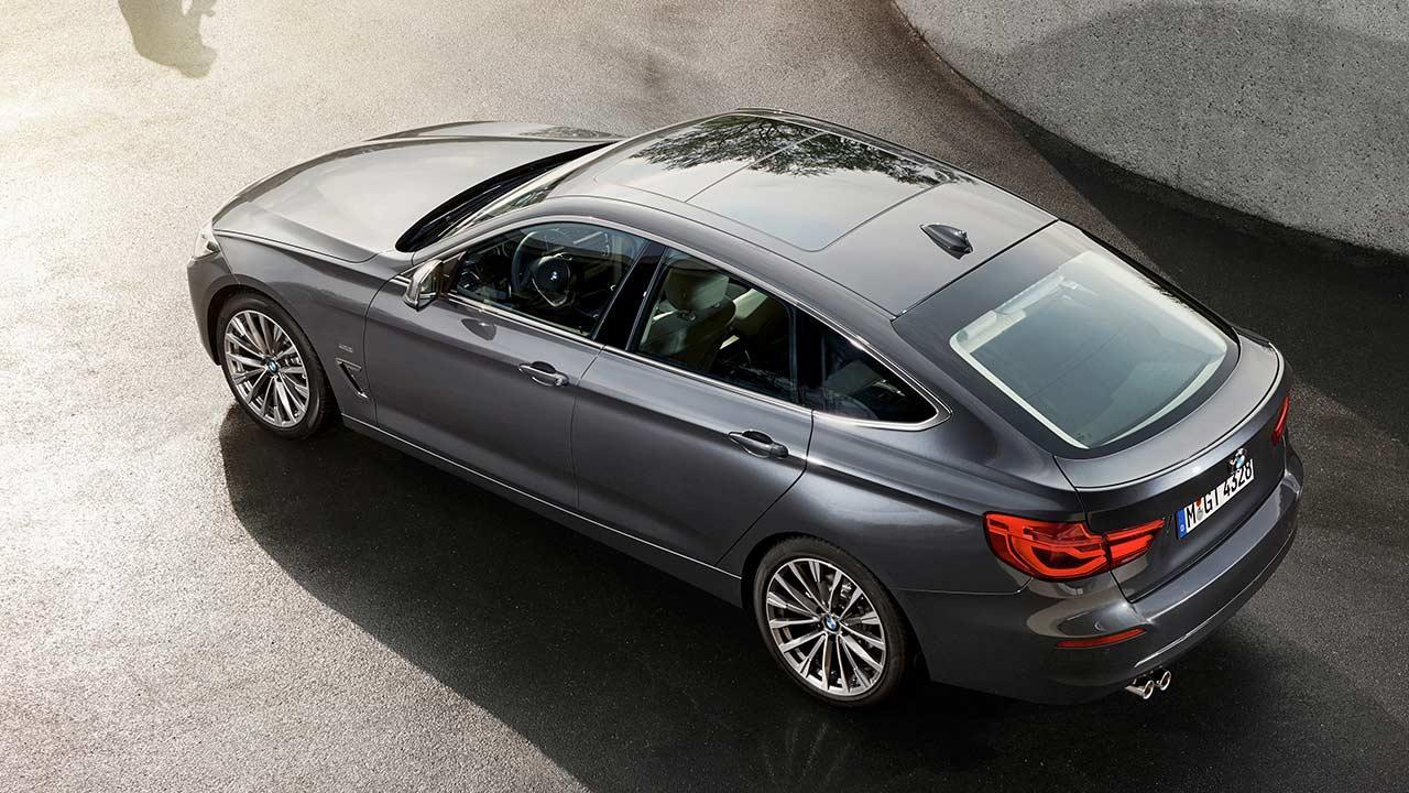 BMW 3er Grand Turismo - Ansicht von Oben
