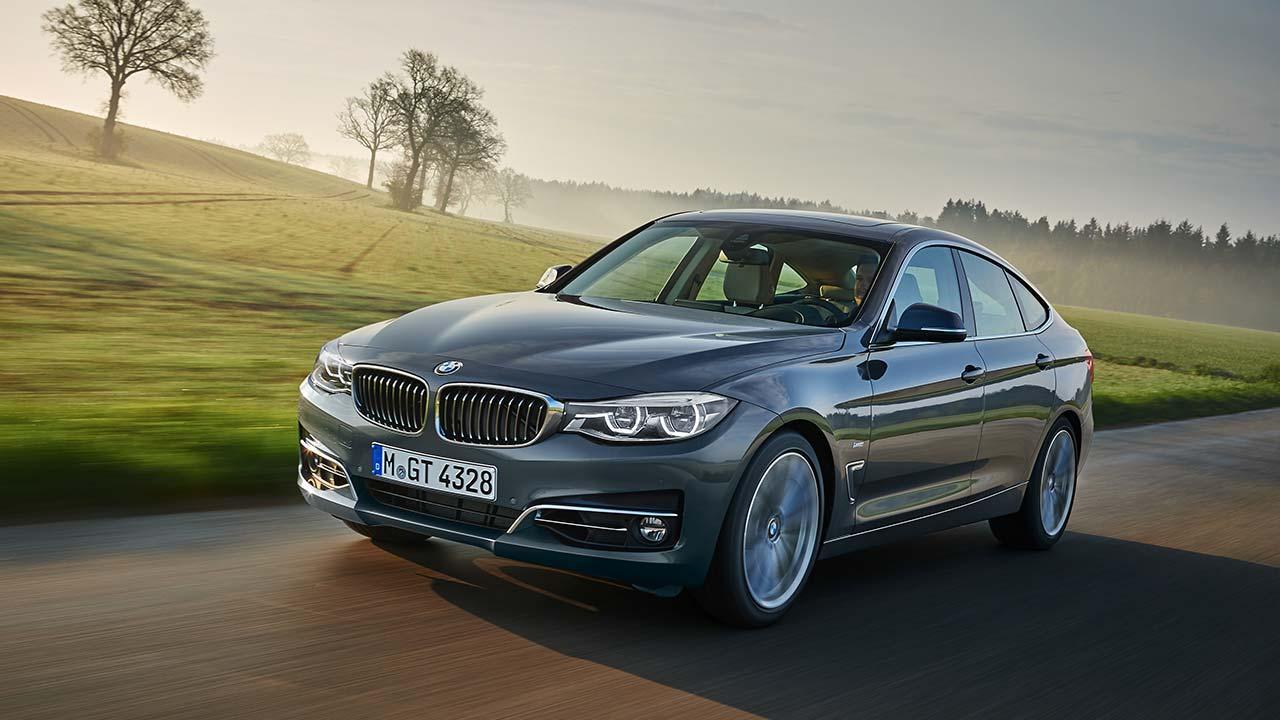 BMW 3er Grand Turismo - in voller Fahrt