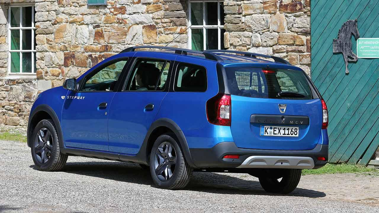 Dacia Logan MCV - Heckansicht