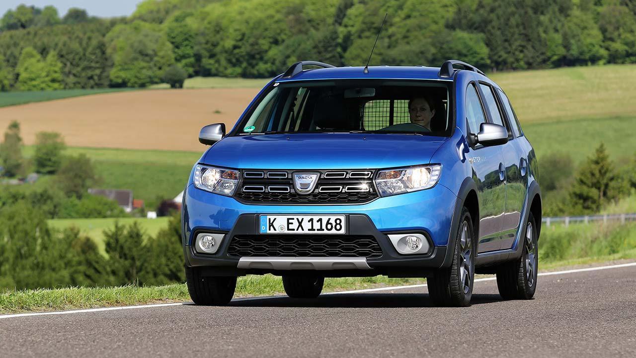 Dacia Logan MCV - Frontansicht
