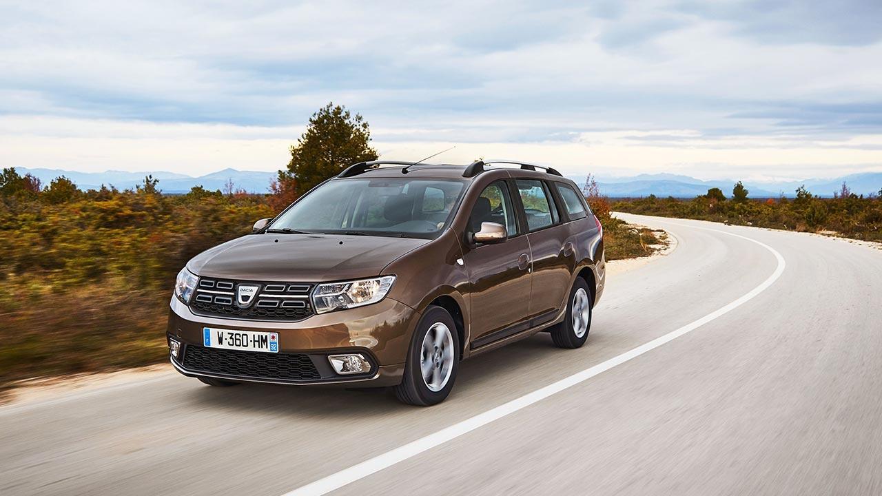 Dacia Logan MCV - in voller Fahrt
