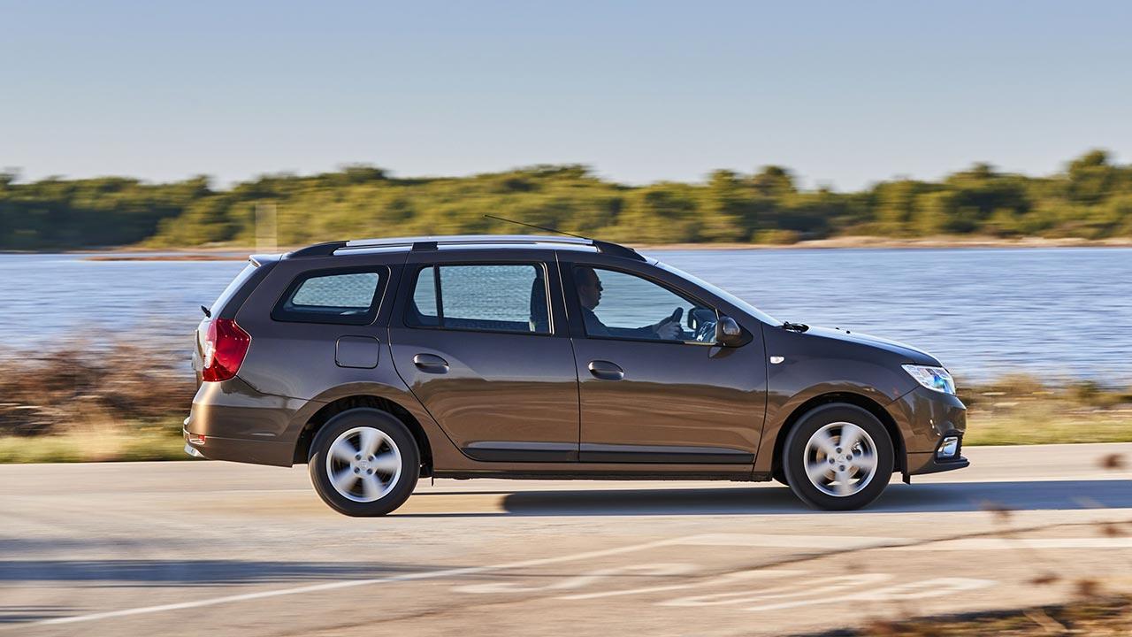 Dacia Logan MCV - Seitenansicht in braun