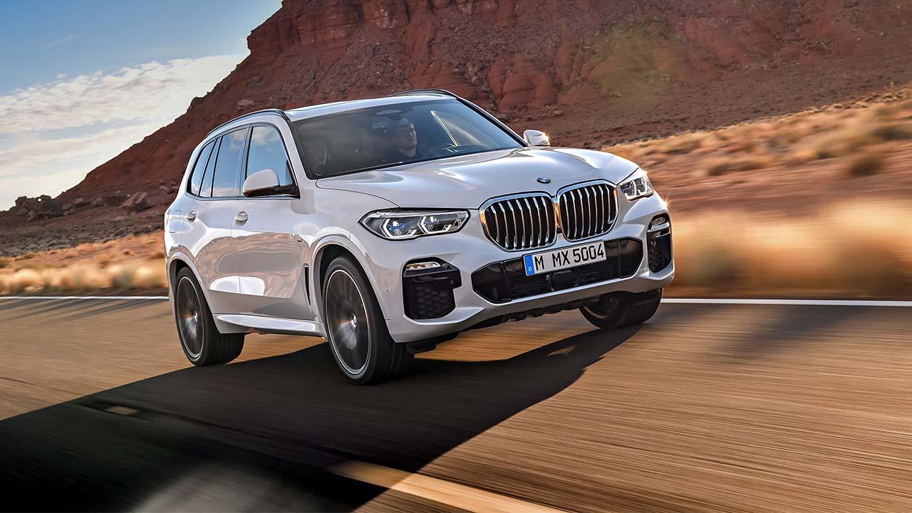 BMW X5 2018 - Frontansicht