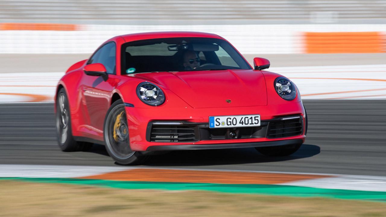 Porsche 911 Carrera (992) - auf der Rennstrecke