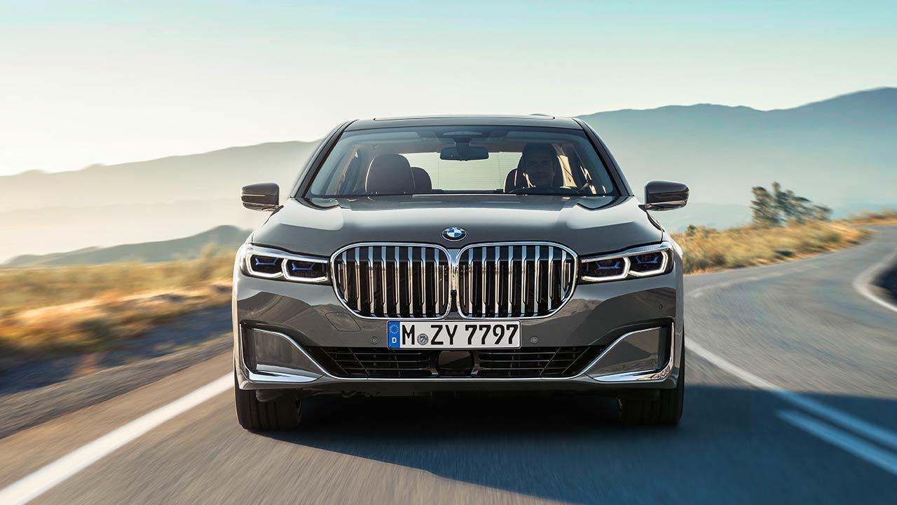 BMW 7er Limousine (2019) - Frontansicht