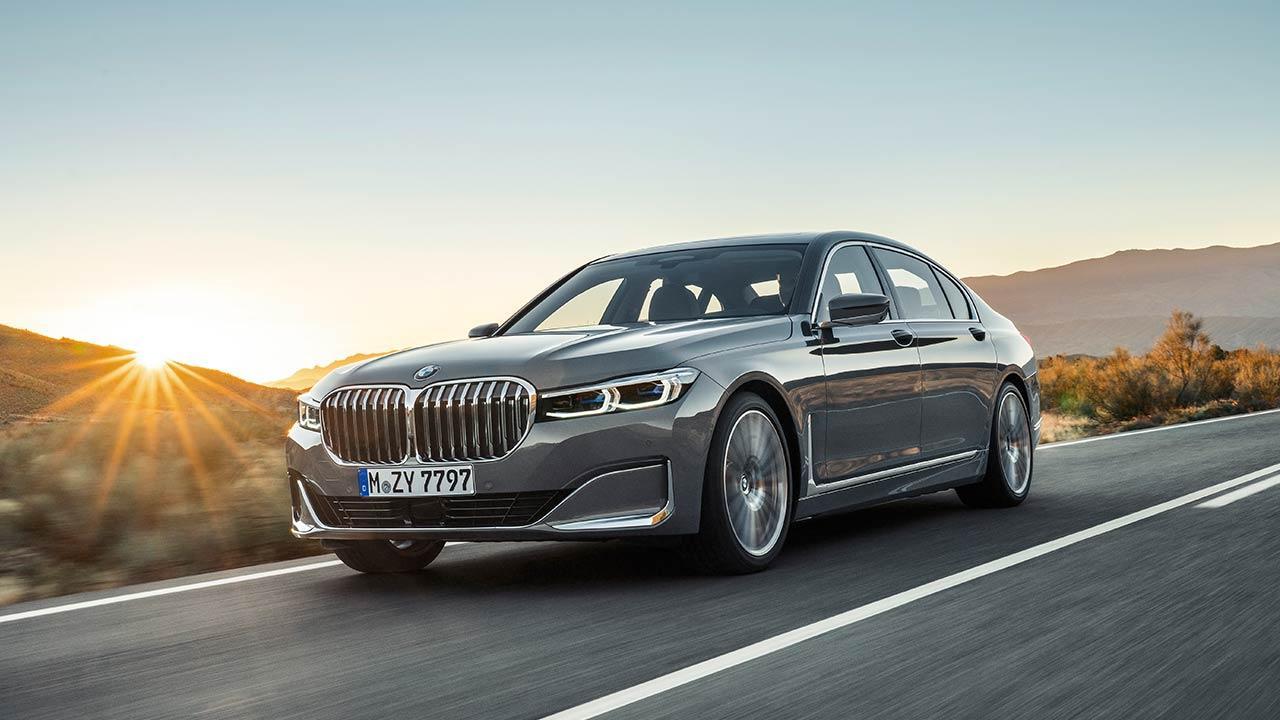 BMW 7er Limousine (2019) - in voller Fahrt