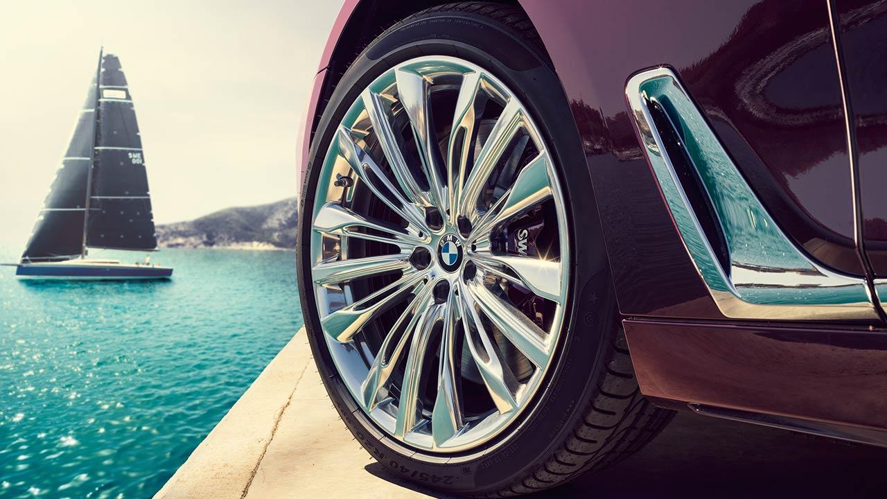 BMW M760 (2019) - Vorderreifen