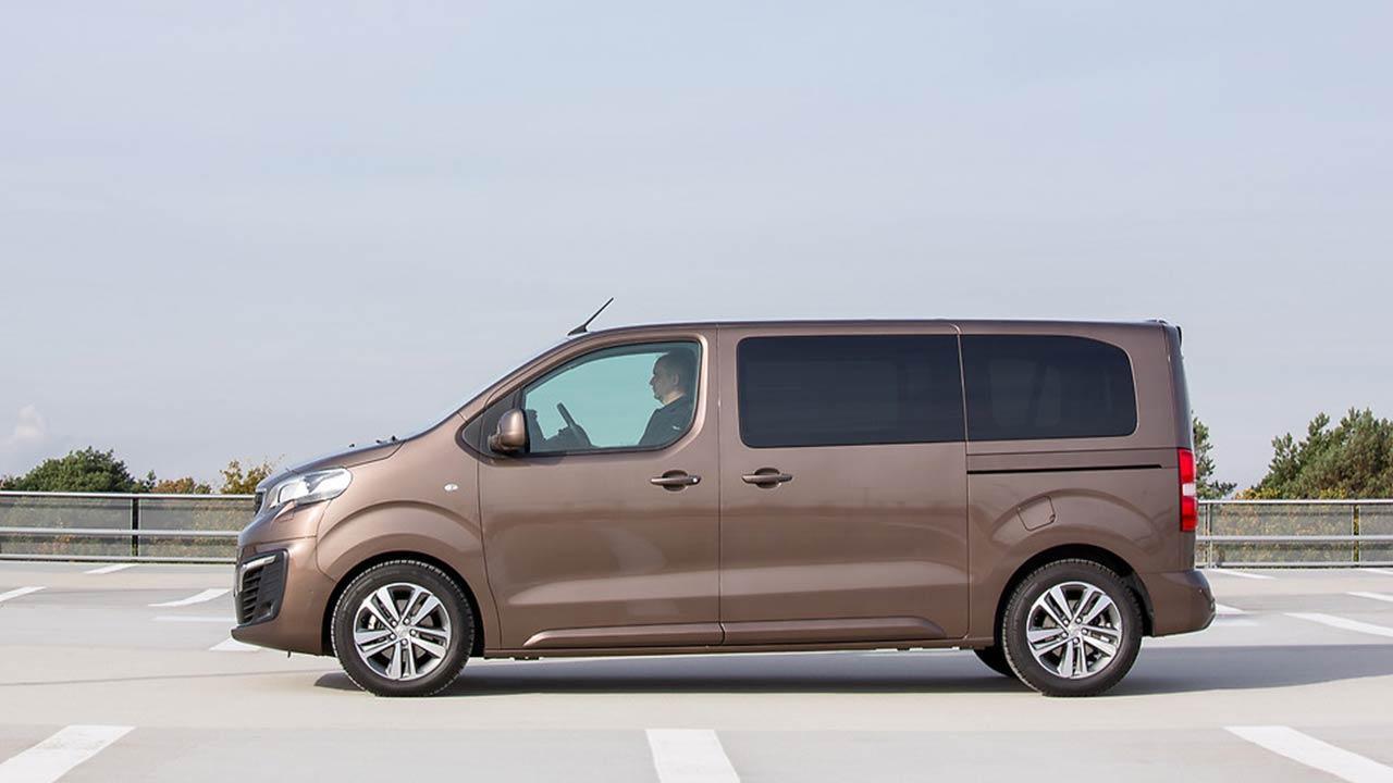 Peugeot Traveller - Seitenansicht