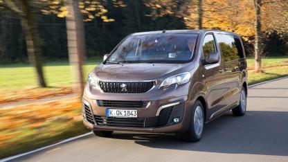 Peugeot Traveller - in voller Fahrt