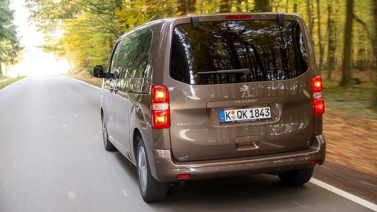 Peugeot Traveller - Heckansicht