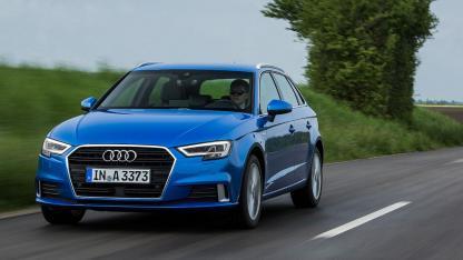 Audi A3 Sportback (2019) - in voller Fahrt