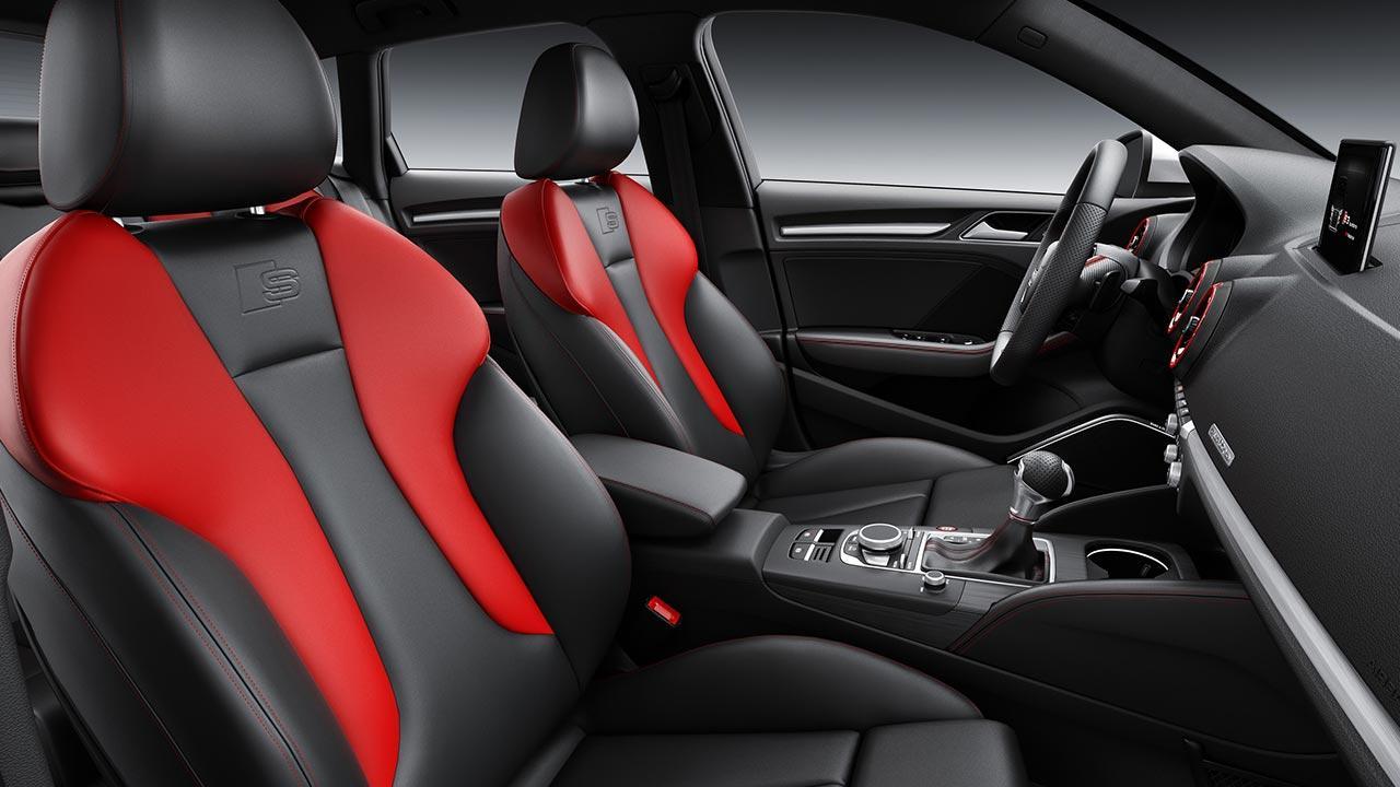 Audi S3 Sportback (2019) - Vordersitze
