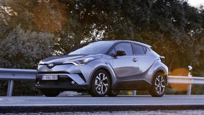 Toyota C-HR - in voller Fahrt